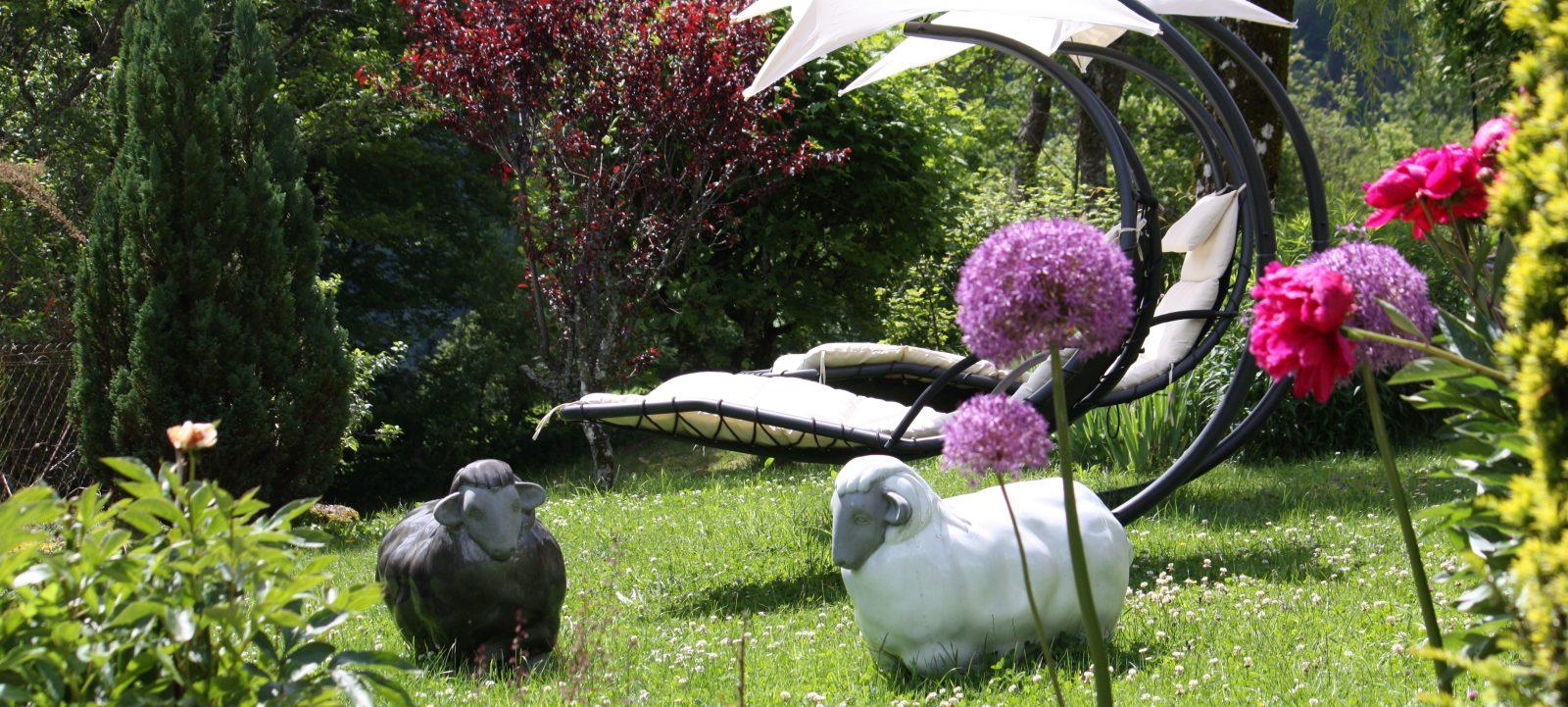 jardins de l'hotel Taillard
